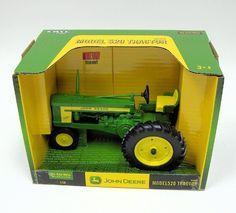 John Deere Model 520 Die-Cast Metal Tractor 1:16 by ERTL. $28.75. Ages 3 & up.. Scale 1:16
