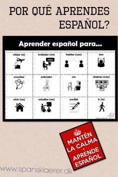 Por qué aprendes español?