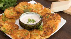 Lanche/Salgado - Panquecas de batata e queijo