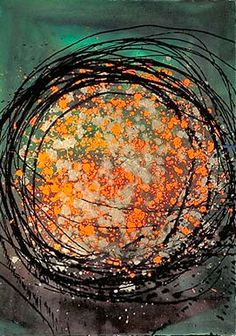 Dale Chihuly, Float Drawing, 1986.