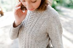 Ravelry: Sauvabelin Sweater pattern by Jessica Gore