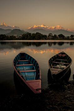 Phewa Lake (Nepal) by wazari
