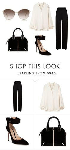 """""""Office Clothes"""" by ronaldraegan-1 on Polyvore featuring Temperley London, The Row, Gianvito Rossi and Tom Ford"""