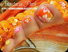 My MakeUp Mania: Summer Vacation 2012 Nails