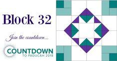Block Thirty-Two: Countdown to Paducah 2018 – AQS Blog