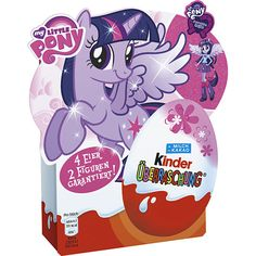 -in USA- Kinder Surprise Egg - My Little Pony - Limited Edition
