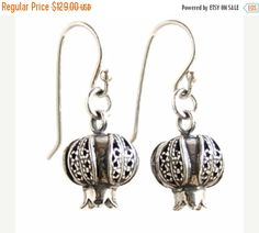 VALENTINE SALE Sterling silver earrings Silver by Bluenoemi