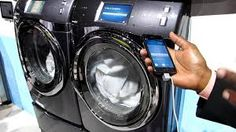 Is your washer/dryer smart enough for you? Get one installed today. Smart Home Technology, Washer And Dryer, Washing Machine, Beautiful Homes, Home Appliances, Samsung, Remodeling, Google Search, Ideas