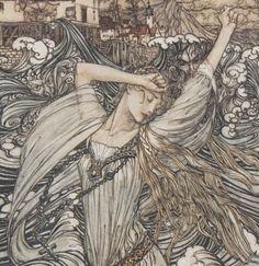 Ondine / par de La Motte-Fouqué ; illustré par Arthur Rackham   Gallica