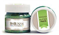 *PRE-ORDER* Bo Bunny - Double Dot Glitter Paste - Wasabi Glitter Paste,$5.99