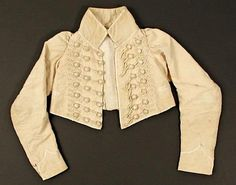 Jacket (Spencer), 1805–15, French. Cotton, silk, & linen. Metropolitan Museum of Art. (2) - OneDrive