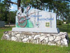 Olustee Battlefield in Baker County, Florida.