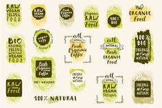 Organic Logo Templates by Soulful Vectors - free file week beginning 23rd January