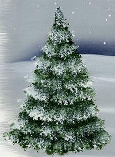 Painting tree acrylic canvas ideas 52 Ideas for 2020 Christmas Paintings On Canvas, Christmas Tree Painting, Christmas Canvas, Christmas Art, Christmas Nails, Simple Christmas, Xmas, Watercolor Christmas, How To Draw Christmas Tree