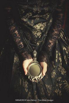 sensual dark beauty