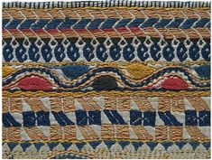Kantha is a style of quilting that originates in Bengal, in northeast India.