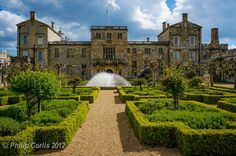 Wilton House, home of the 18th Earl of Pembroke.
