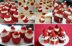 Mundos de Cris: Papa Noel de fresa