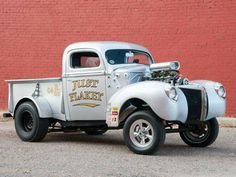 '40 Ford pickup, gasser style...