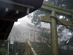 熊野古道、玉置神社