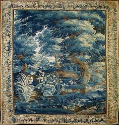 Antique Tapestries that survived and are available to buy are mostly from the 16th to the 19th century.