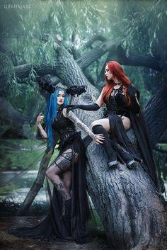 Gothic and Amazing: Photo Gothic Metal, Gothic Steampunk, Goth Beauty, Dark Beauty, Beltane, Gothic Girls, Dark Fashion, Gothic Fashion, Chica Dark