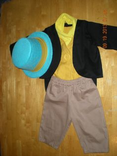 Jiminy Cricket from Pinocchio Costume with Wellington Style Top