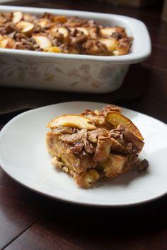 Peach Bread Pudding via Whit's Amuse Bouche