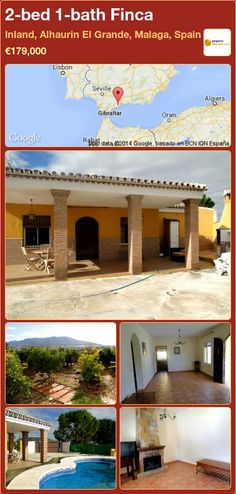 2-bed 1-bath Finca for Sale in Inland, Alhaurin El Grande, Malaga, Spain ►€179,000