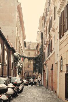 Roma streets.