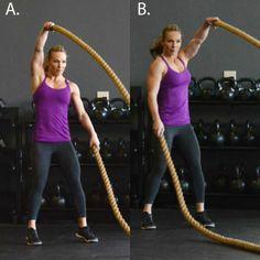 7 Heavy Rope Exercises- Shape Magazine