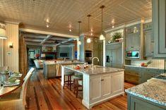 santa cecilia light granite countertops modern kitchen design white blue cabinets
