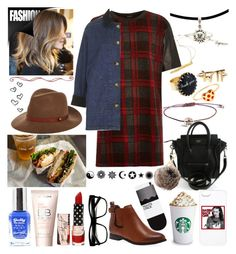 OUT FOR LUNCH WITH CAMERON :) by costina-raftu on Polyvore featuring River Island, Topshop, H&M, Vivien Frank Designs, Zara Simon, Hillier London, rag & bone, Retrò and Missguided