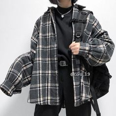 Stylish Flannel Outfits Appropriate For Hang Out - 18 Stylish Flannel Ou., Stylish Flannel Outfits Appropriate For Hang Out - 18 Stylish Flannel Outfits Appropriate For Hang Out Edgy Outfits, Korean Outfits, Retro Outfits, Mode Outfits, Cute Casual Outfits, Fashion Outfits, Tomboy Winter Outfits, Soft Grunge Outfits, Fashion Ideas