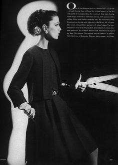 March Vogue 1962    Dorothea