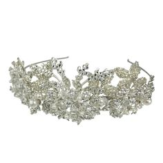 Halo and Co Darcie Headband - Bridal Jewellery - Crystal Bridal Accessories
