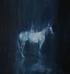 Study for white horse in the light. ©Jake Wood-Evans