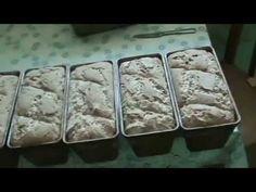 Мой способ выпекания бездрожжевого хлеба дома - YouTube