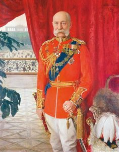 Tom von Dreger, Emperor Franz Joseph I, 1913 © Belvedere, Vienna Marshal Arts, Field Marshal, Modern Art Paintings, Modern Artwork, Sissi, Fürstentum Liechtenstein, Joseph, Kaiser Franz, British Uniforms
