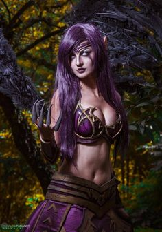 Morgana from League of Legends Cosplayer: Débora Fuzeti Cosplay Photographer…