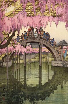 Kameido, from the series Tokyo Junidai Prints by Yoshida Hiroshi | Magnolia Box
