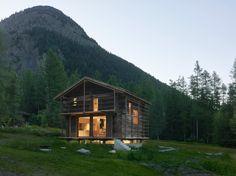 Conversión de un granero / Savioz Fabrizzi Architectes