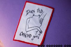Does this offend you Patch. Feminism womanism by TheSharpedBox, €2.00
