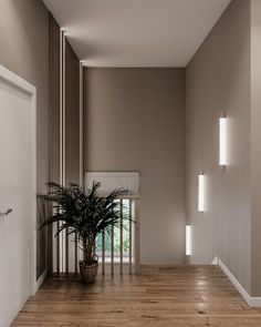 La imagen puede contener: planta, tabla e interior Home Room Design, Stair Decor, Modern Houses Interior, Home Stairs Design, House Interior, Living Room Wall Color, Hallway Designs, Home Interior Design, Living Room Designs