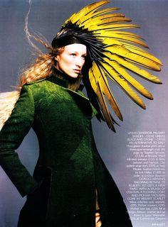 UK Vogue December 1998 Urbane Nomad Ph: Kim Knott Model: Jade Parfitt