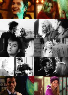 Ten and Rose. The Doctor and Rose. Doctor Who. David Tennant and Billie Piper.