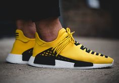"""Pharrell's ever-growing collection of sneakers with adidas just added what will surely be his most sought-after silhouette yet, the all-new """"Human Race"""" iteration of the NMD. When you combine the world's current hottest sneaker with Pharrell's creative direction, the results … Continue reading →"""