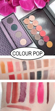 I'm sharing a ton of Colour Pop pressed powder eyeshadows, some Super Shock eyeshadows and lip products with you.