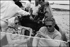 "Faye Dunaway & Steve McQueen in ""The Thomas Crown Affair"""