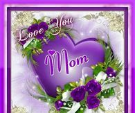 Love you Mom Heaven Pictures, Mom Pictures, Morning Pictures, Happy Mothers Day Pictures, Mothers Day Cards, Love My Kids, Love You Mom, Mother's Day In Heaven, I Miss My Mom